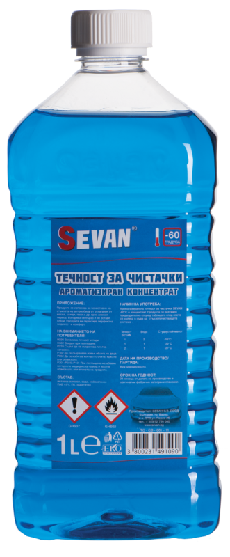 Купувам SEVAN ® ТЕЧНОСТ ЗА ЧИСТАЧКИ -60С° 1L /Ароматизиран концентрат/