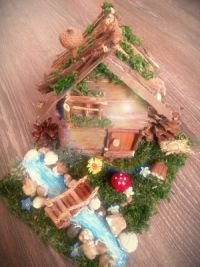 Купувам Декоративна къщичка за украса или подарък