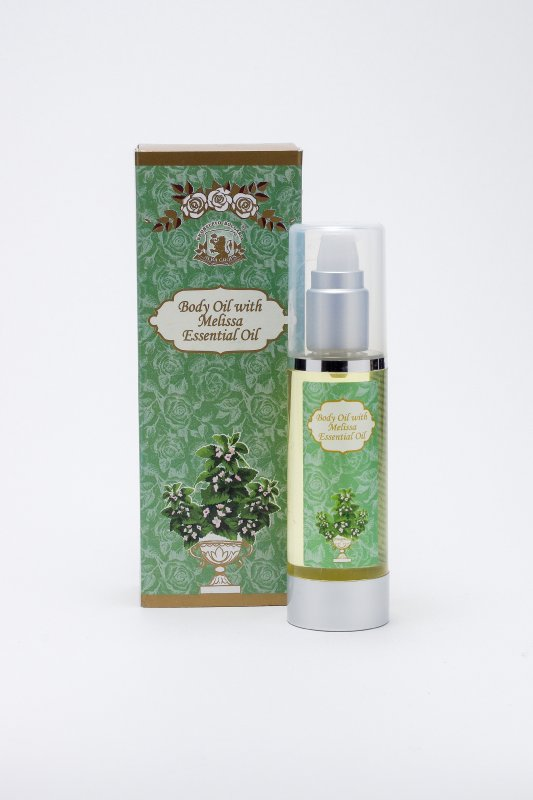 Body oil ALBA with Melissa essential oil - 50 ml