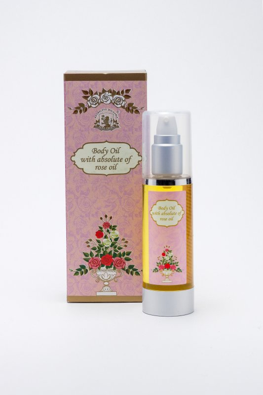Купувам Body oil ALBA with Rose absolutes - 50 gr