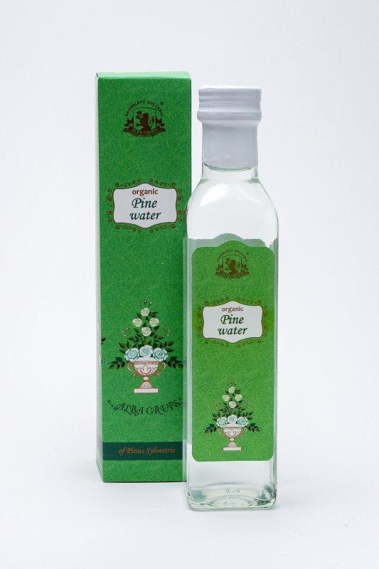 Organic Pine water ALBA - 250 ml