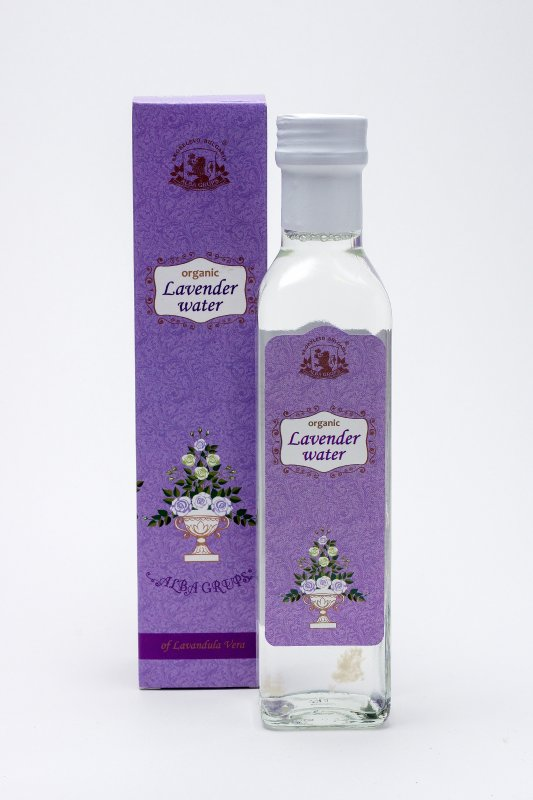 Organic Lavender water ALBA - 250 ml