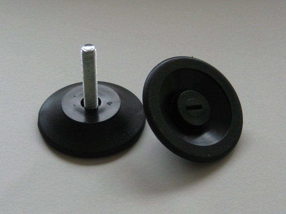 Купувам Пластмасова регулируема стъпка с метален болт M8