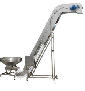 Купувам Feeding conveyor with a modular plastic belt