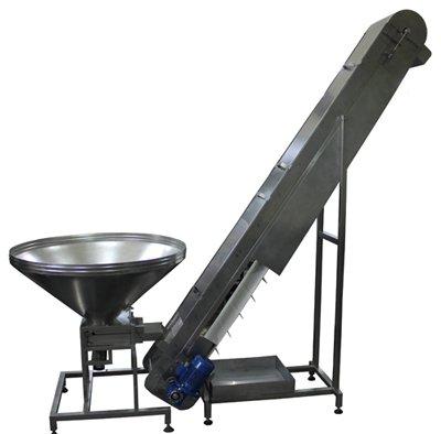 Купувам Feeding conveyor with a PVC/PU belt