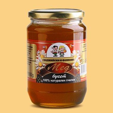 Купувам Билков мед - Букет, 900 г