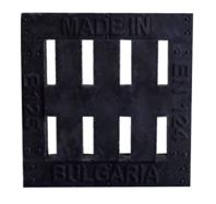 Купувам Дъждовно източване решетка покритие 400/450/60 (полимер)