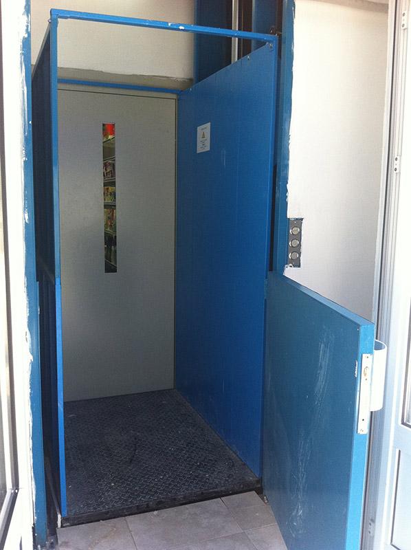 Купувам Товарен асансьор