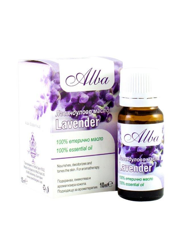Organic Lavender essential oil - ALBA - 10gr