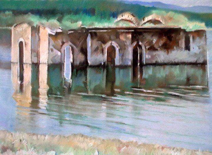 Купувам Потопената Църква Свети Иван Рилски в язовир Жребчево
