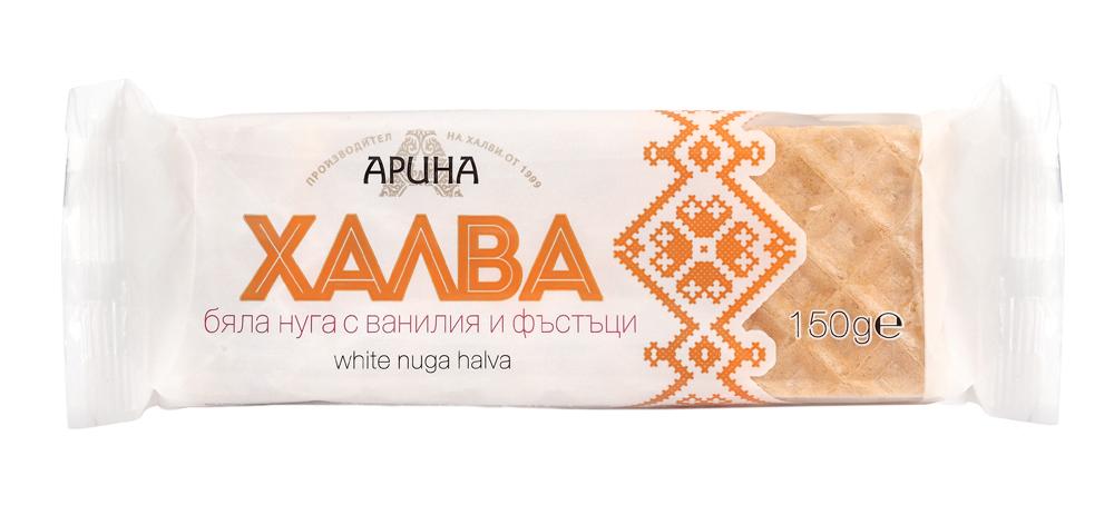 Купувам Нуга халва с ванилия и фъстъци 150 гр.