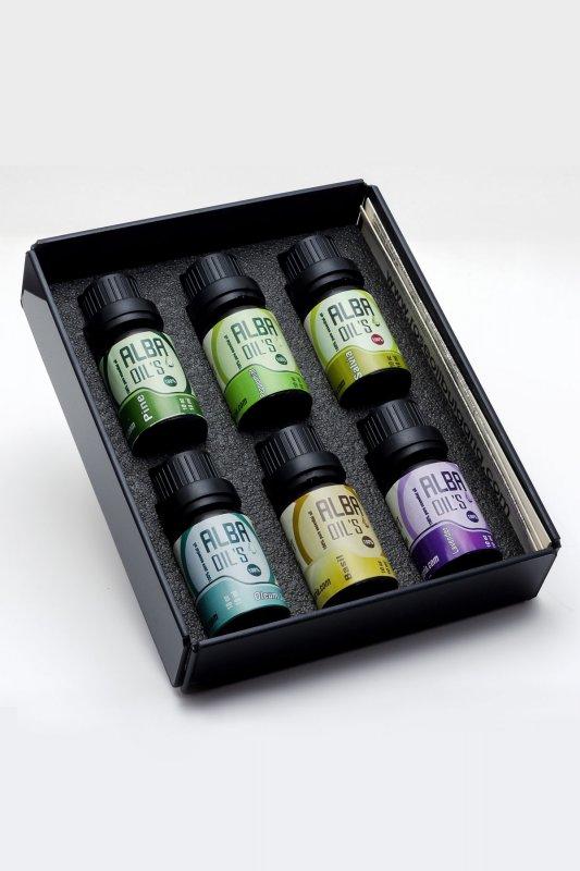 Комплект етерични масла АЛБА - 6бр по 10гр