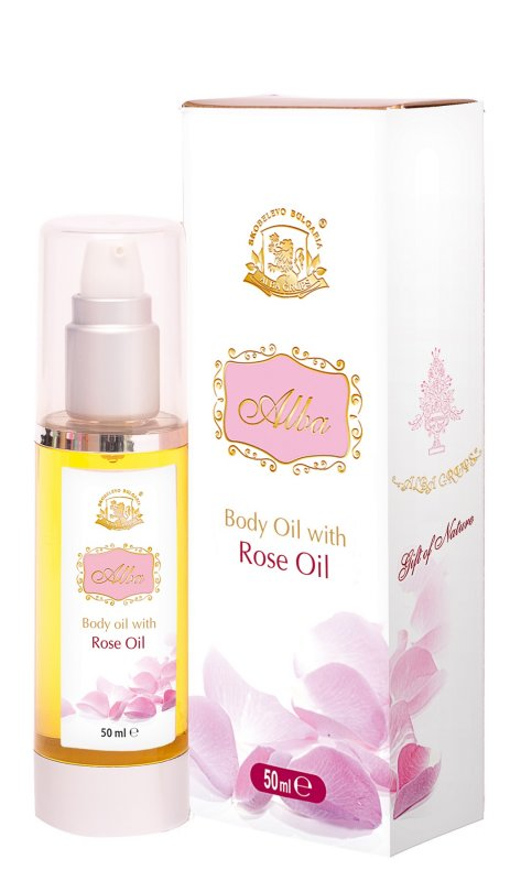 Масажно масло АЛБА с Роза - 50мл