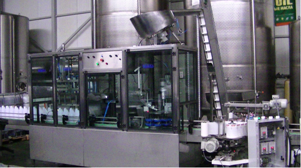 Buy Machine for automatic filling and capping of bottles