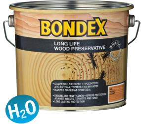 Купувам  BONDEX LONG LIFE WOOD PRESERVATIVE - ИМПРЕГНИРАЩ ГРУНД