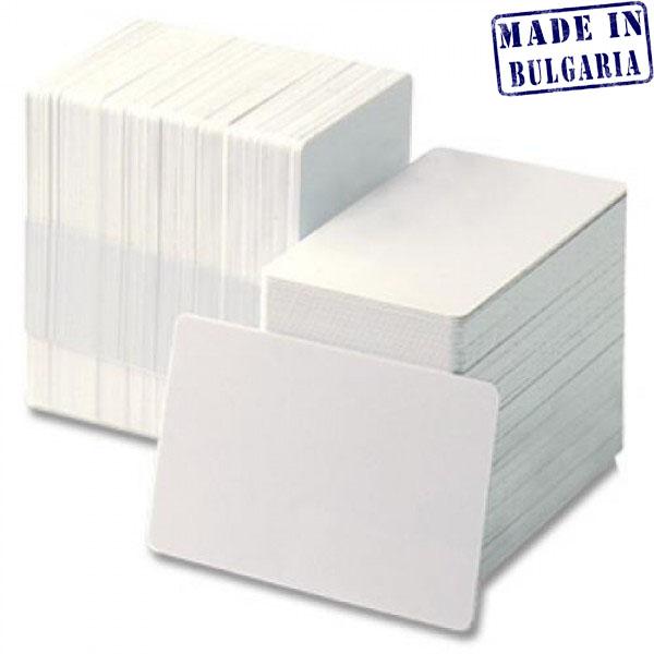 Купувам Бели пластмасови PVC карти (Ultra white)