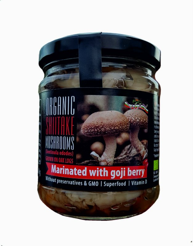 Buy ORGANIC SHIITAKE Mushroom grown on oak logs
