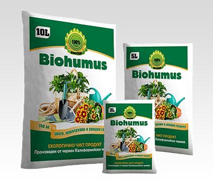 Купувам Biohumus 3 л