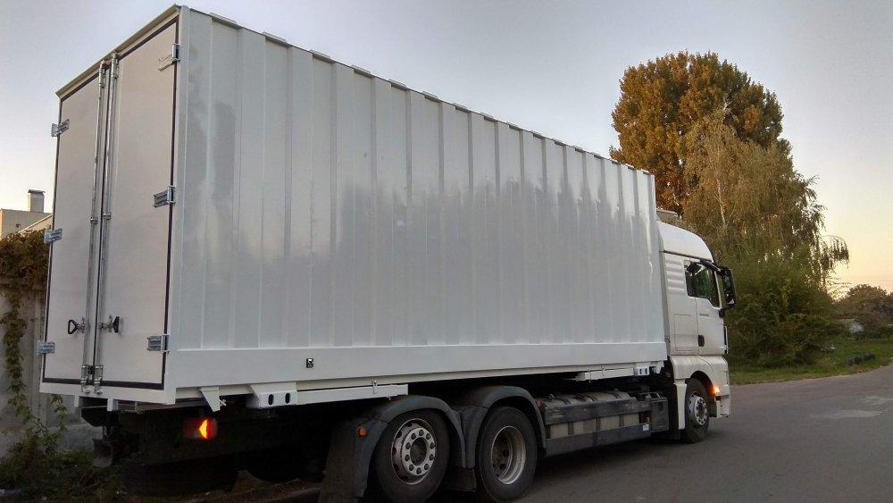 Подвижен контейнер от 20 фута. BDF стандарт. Не ISO. Подвижен, интермодален контейнер (сменяем корпус).