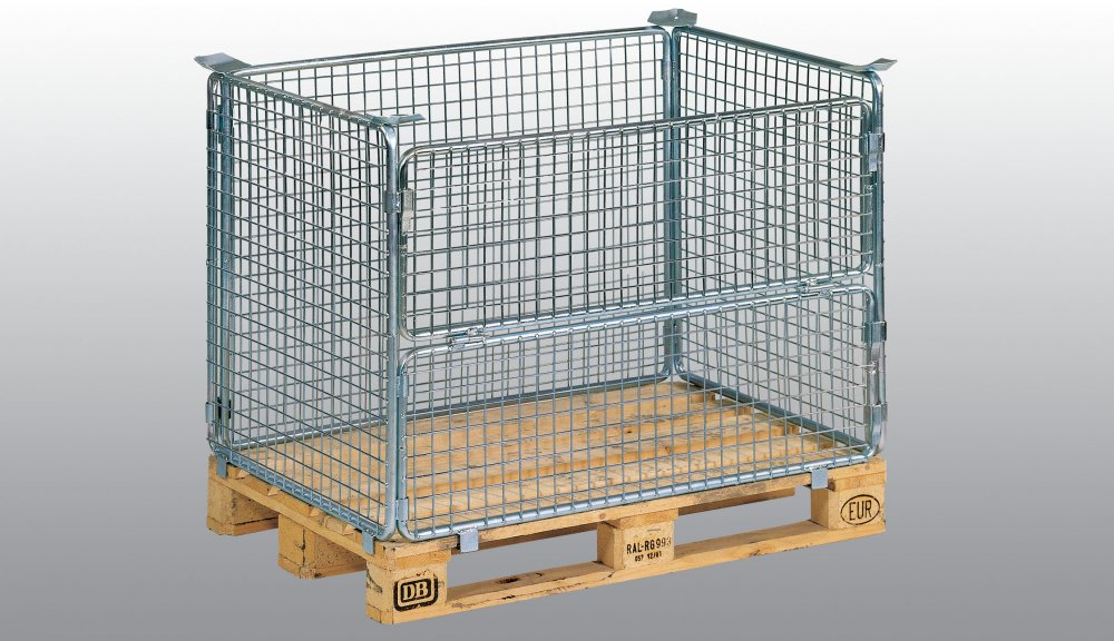 Buy Wire mesh pallet AG 1002