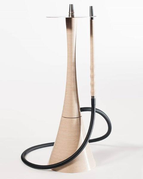 Наргиле Roden Egoisto Beige бежово гланциран дизайнер издръжлив, изработен от изкуствен камък