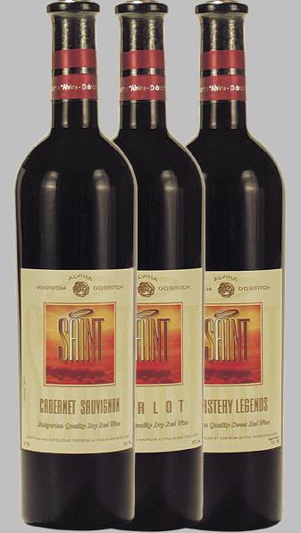 Вино червено