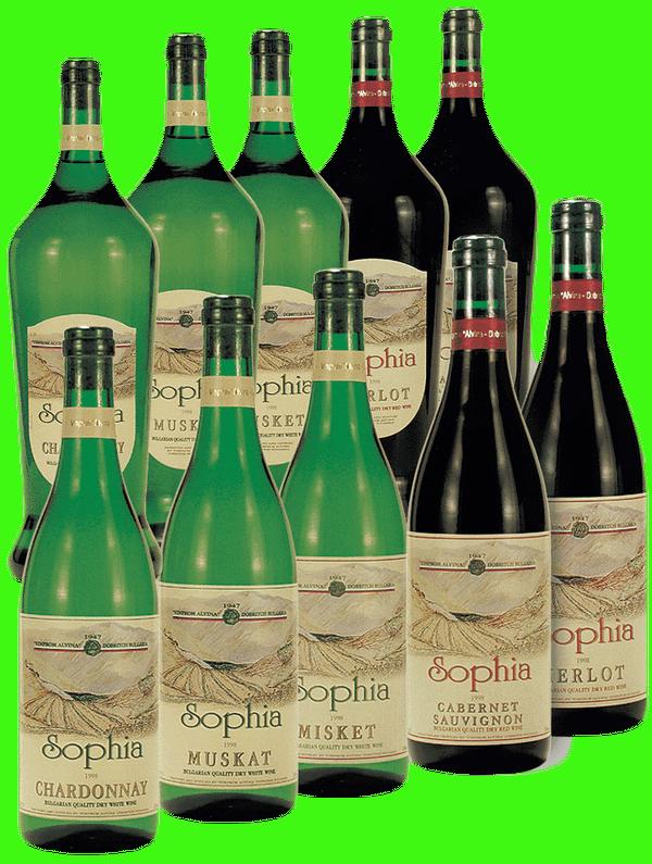 Вино серия София