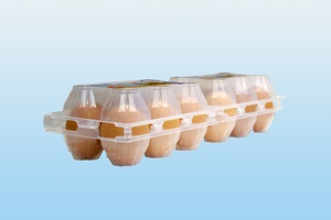 Купувам Пластмасова опаковка за яйца, 2Х6 PS