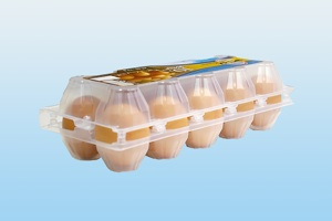 Купувам Пластмасова опаковка за яйца 1Х10 PS