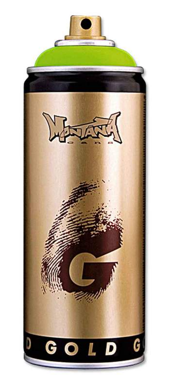 Купувам Висококачествена бързосъхнеща боя на нитроцелулозна основа Montana Gold