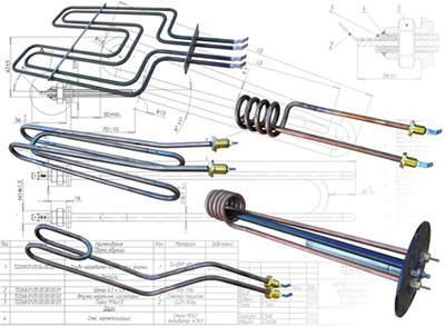 Електрически тръбни нагревателни елементи