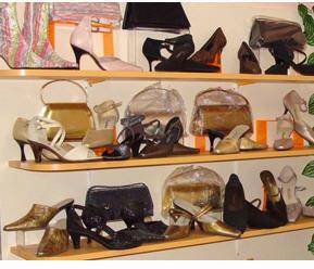 Дамски обувки от изкуствени материали
