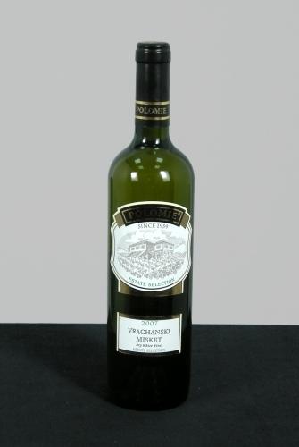 Вино бяло Врачански Мискет 2007