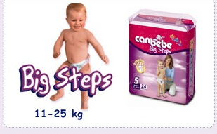Купувам Пелени CANBEBE 11-25 кг