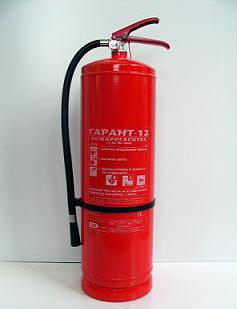 Пожарогасител прах 12 кг,ВС