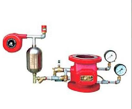 Контролно-сигнален клапан вода - вода