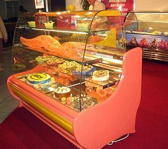 Хладилни витрини за сладкарници Аврора