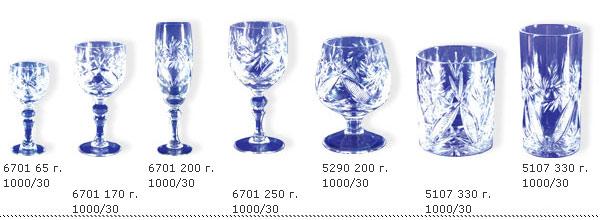 Купувам Чаши от оловен кристал