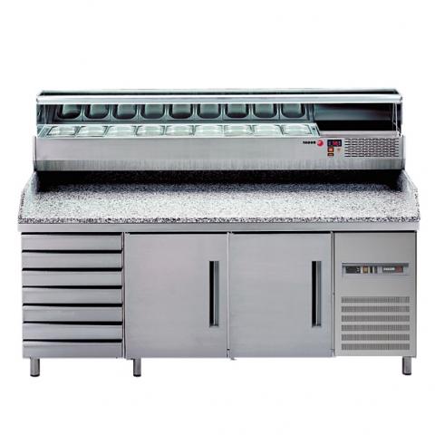 Купувам Хладилна маса с надстройка за салати MPZ - 202