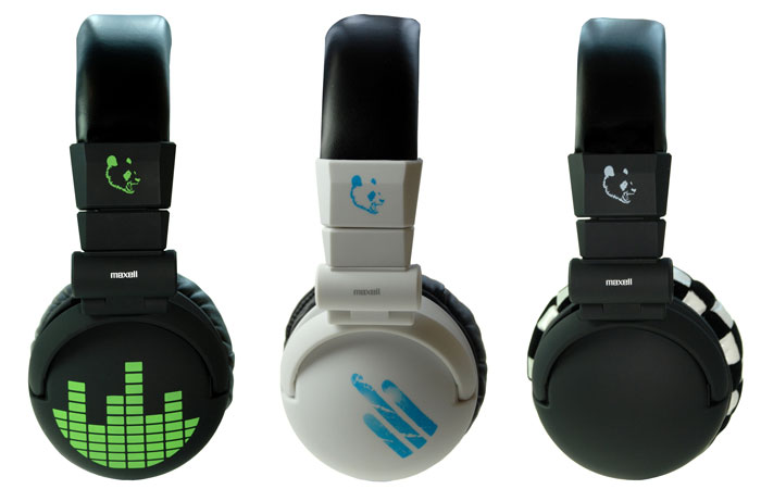 Купувам Слушалки MAXELL Studio ICE BLUE с големи наушници