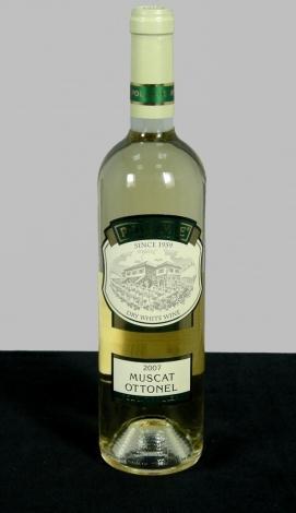 Бяло вино Мускат Отонел 2009 година 0.75 л