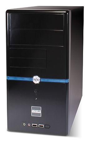 Кутия GZ-M2, черна, Micro ATX, без захранване,1xFAN 90mm,2xUSB