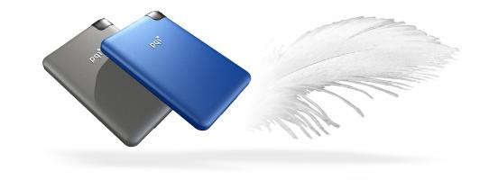 """Външен диск 2.5"""" HDD 500Gb PQI H551 черен+кожен калъф"""