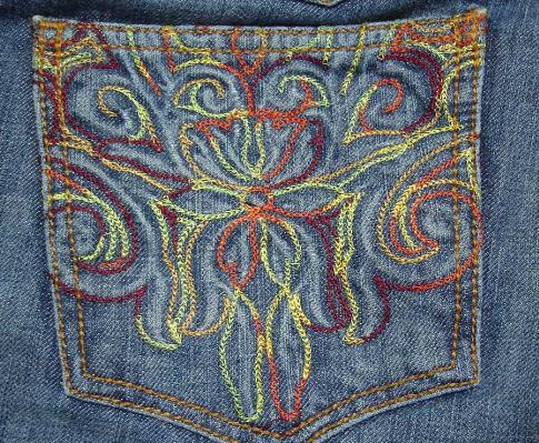 Купувам Бродерия върху текстил