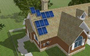 Купувам Соларни системи за инсталация върху скатни покриви