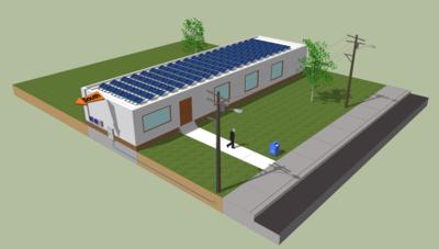Купувам Соларни системи за инсталация върху плоски покриви