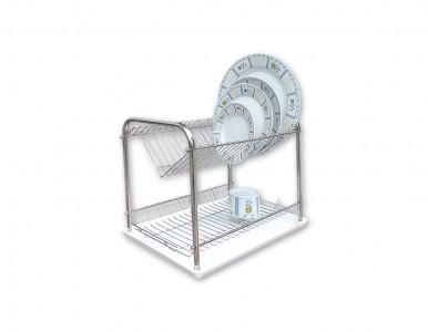 Метален сушилник за чинии с никелово покритие 2 етажа НЕГО