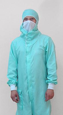 Купувам Облекла за помещения с контролирана атмосфера (super clean) №2