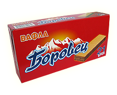 Купувам Вафли Боровец с фъстъчен крем пакет 21 бр