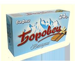 Купувам Вафли Боровец ванилия 24 бр